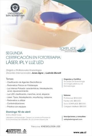 Flyer Certificación